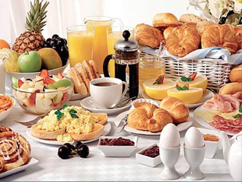 Buffet del Buongiorno dalle 08:00 alle 12:00